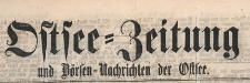 Ostsee-Zeitung und Börsen-Nachrichten der Ostsee, 1866.06.23 nr 287