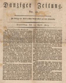 Danziger Zeitung, 1813.04.15 nr 59