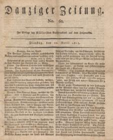 Danziger Zeitung, 1813.04.20 nr 62