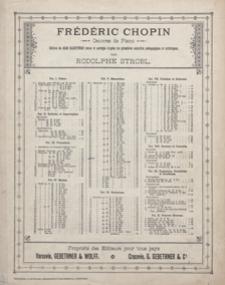 Mazurka f-moll : op.63, No 2 : [pour piano]