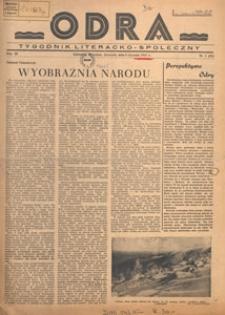 Odra : tygodnik literacko-społeczny, 1947.01.12 nr 2