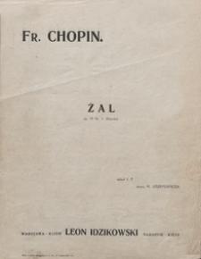 Żal : improwizacja na temat Etriudy Chopina E-dur : op.10 no 3 / słowa Michał Józefowicz ; oprac. I.Tiumieniew