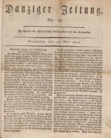 Danziger Zeitung, 1813.05.13 nr 75