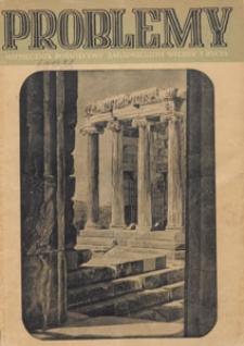 Problemy : miesięcznik poświęcony zagadnieniom wiedzy i życia, 1950 nr 1