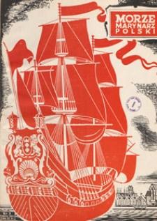 Morze i Marynarz Polski, 1950.03 nr 3