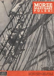 Morze i Marynarz Polski, 1950.08-09 nr 8/9