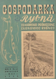 Gospodarka Rybna, 1950.04-05 nr 4-5