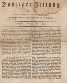 Danziger Zeitung, 1813.05.18 nr 78
