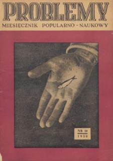 Problemy : miesięcznik popularno-naukowy, 1950 nr 10