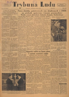 Trybuna Ludu : organ Komitetu Centralnego Polskiej Zjednoczonej Partii Robotniczej, 1950.03.02 nr 61