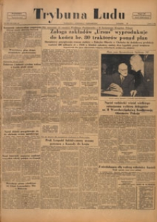 Trybuna Ludu : organ Komitetu Centralnego Polskiej Zjednoczonej Partii Robotniczej, 1950.10.06 nr 274