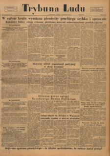 Trybuna Ludu : organ Komitetu Centralnego Polskiej Zjednoczonej Partii Robotniczej, 1950.11.16 nr 317