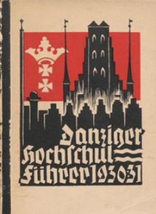 Danziger Hochschulfuhrer 1930/1931