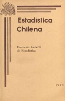 Estadística Chilena, 1940.07 nr 7