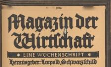 Magazin der Wirtschaft : eine Wochenschrift, 1926.03.25 nr 12