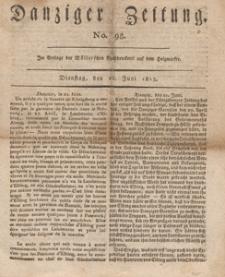 Danziger Zeitung, 1813.06.22 nr 98