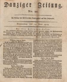 Danziger Zeitung, 1813.06.24 nr 99