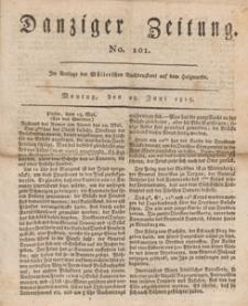 Danziger Zeitung, 1813.06.28 nr 101