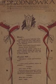 Jednodniówka : wydana przez Polski Zwiazek Zachodni w Bydgoszczy z okazji 25 lecia istnienia, 1946.11