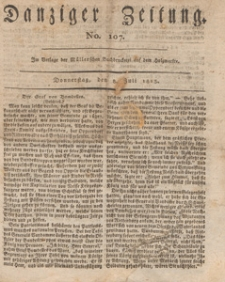Danziger Zeitung, 1813.07.08 nr 107