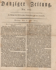 Danziger Zeitung, 1813.07.09 nr 108