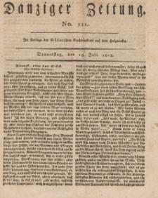 Danziger Zeitung, 1813.07.15 nr 111
