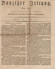 Danziger Zeitung, 1813.07.16 nr 112