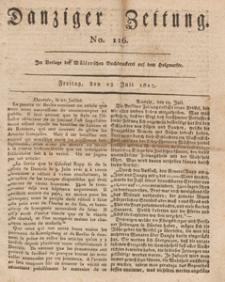 Danziger Zeitung, 1813.07.23 nr 116