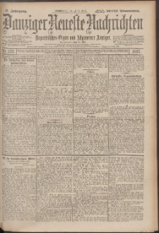 Danziger Neueste Nachrichten : unparteiisches Organ und allgemeiner Anzeiger133/1897