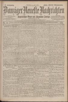 Danziger Neueste Nachrichten : unparteiisches Organ und allgemeiner Anzeiger137/1897