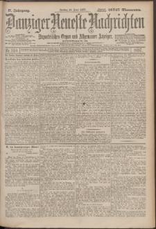 Danziger Neueste Nachrichten : unparteiisches Organ und allgemeiner Anzeiger140/1897