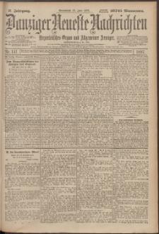 Danziger Neueste Nachrichten : unparteiisches Organ und allgemeiner Anzeiger141/1897