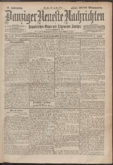 Danziger Neueste Nachrichten : unparteiisches Organ und allgemeiner Anzeiger 148/1897