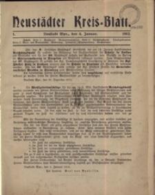 Neustadter Kreis - Blatt, nr., 1912