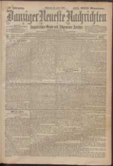 Danziger Neueste Nachrichten : unparteiisches Organ und allgemeiner Anzeiger 150/1897