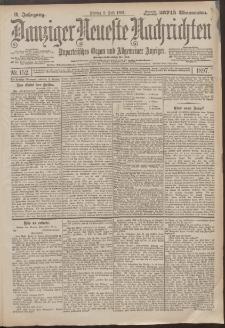 Danziger Neueste Nachrichten : unparteiisches Organ und allgemeiner Anzeiger 152/1897