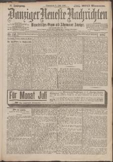 Danziger Neueste Nachrichten : unparteiisches Organ und allgemeiner Anzeiger 153/1897