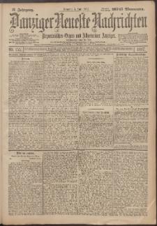 Danziger Neueste Nachrichten : unparteiisches Organ und allgemeiner Anzeiger 155/1897