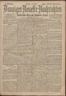 Danziger Neueste Nachrichten : unparteiisches Organ und allgemeiner Anzeiger 156/1897