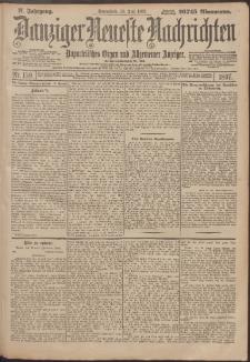Danziger Neueste Nachrichten : unparteiisches Organ und allgemeiner Anzeiger159/1897Anzeiger