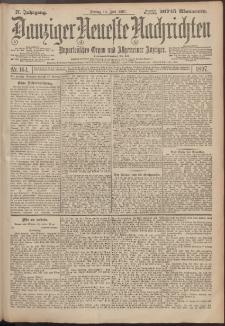 Danziger Neueste Nachrichten : unparteiisches Organ und allgemeiner Anzeiger164/1897