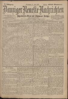 Danziger Neueste Nachrichten : unparteiisches Organ und allgemeiner Anzeiger165/1897