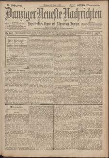 Danziger Neueste Nachrichten : unparteiisches Organ und allgemeiner Anzeiger166/1897