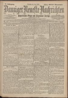Danziger Neueste Nachrichten : unparteiisches Organ und allgemeiner Anzeiger167/1897