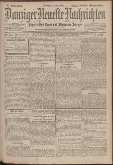 Danziger Neueste Nachrichten : unparteiisches Organ und allgemeiner Anzeiger 174/1897