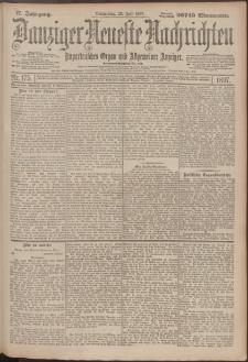 Danziger Neueste Nachrichten : unparteiisches Organ und allgemeiner Anzeiger 175/1897