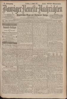 Danziger Neueste Nachrichten : unparteiisches Organ und allgemeiner Anzeiger 179/1897