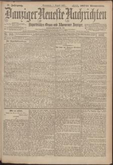 Danziger Neueste Nachrichten : unparteiisches Organ und allgemeiner Anzeiger 183/1897