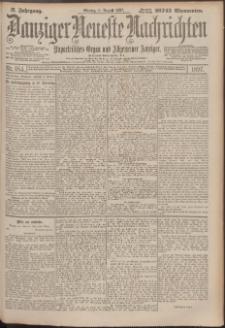 Danziger Neueste Nachrichten : unparteiisches Organ und allgemeiner Anzeiger 184/1897