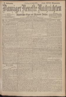 Danziger Neueste Nachrichten : unparteiisches Organ und allgemeiner Anzeiger 185/1897